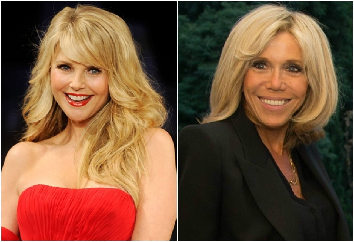 Christie Brinkley vs. Brigitte Macron